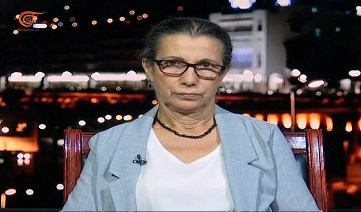Louisa Hanoune, jefa del Partido de los Trabajadores de Argelia (PT).