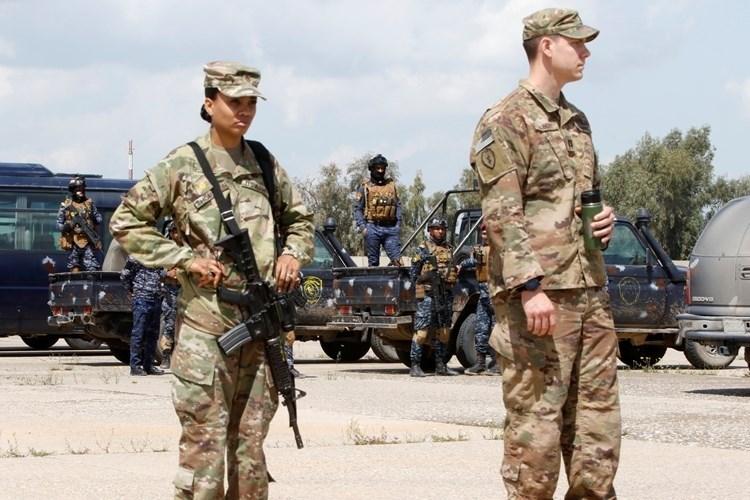 Atacan convoy de EE.UU. al norte de Bagdad.
