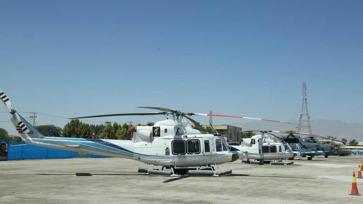 Nuevos helicópteros también se incorporan a la Armada del CGRI.