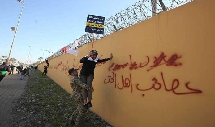 Mantienen decisión de cerrar embajada de Estados Unidos en Bagdad