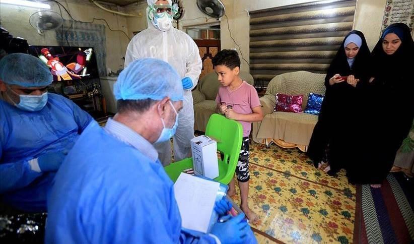 Casos de contagios con Covid-19 alcanza cifra récord en Iraq.