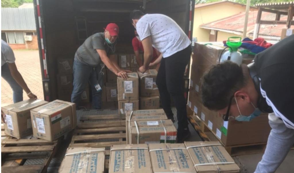 Siria agradece a India donación de medicamentos contra la Covid-19.