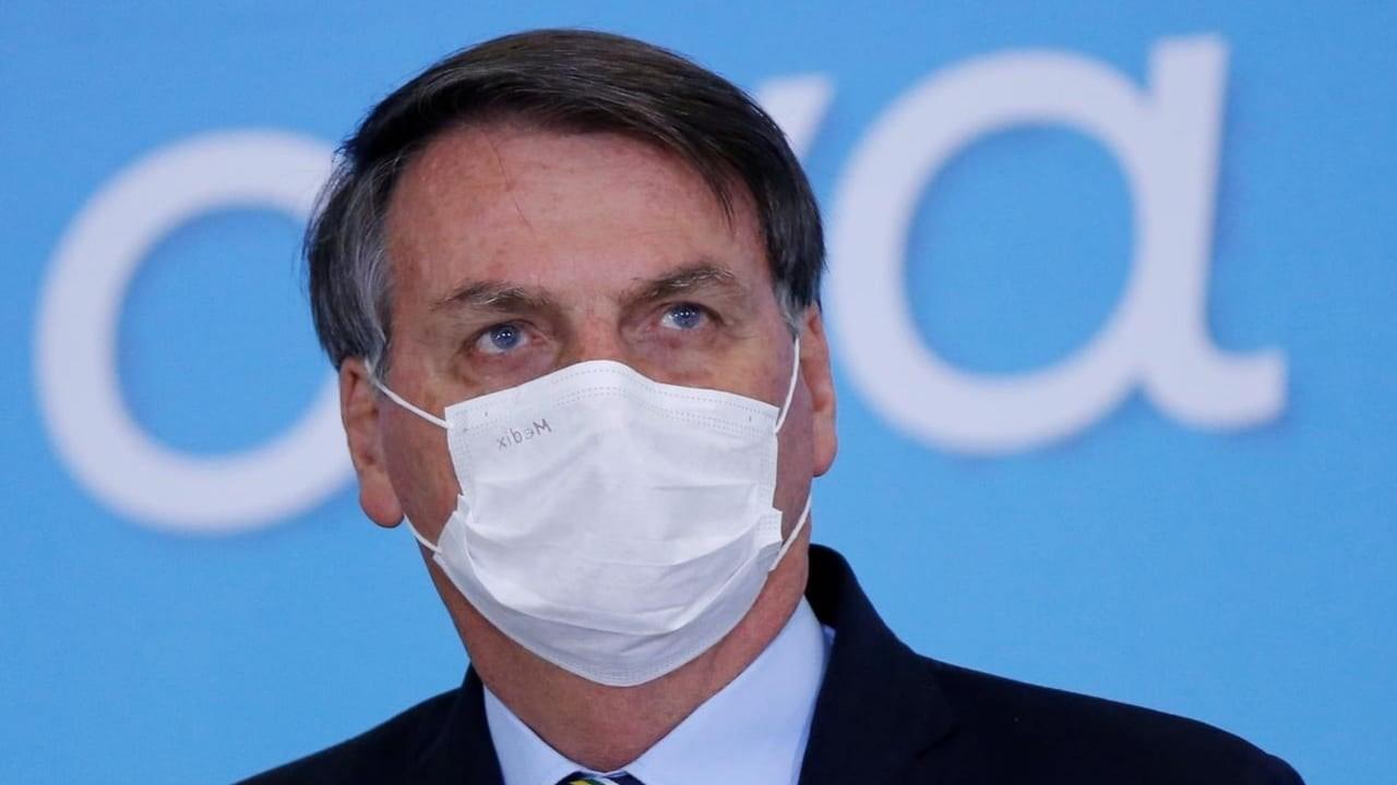 Bolsonaro rechaza vacuna contra el Covid-19.
