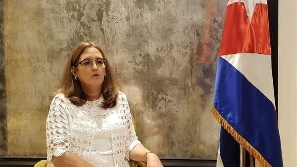 Embajadora de Cuba en el Cairo: