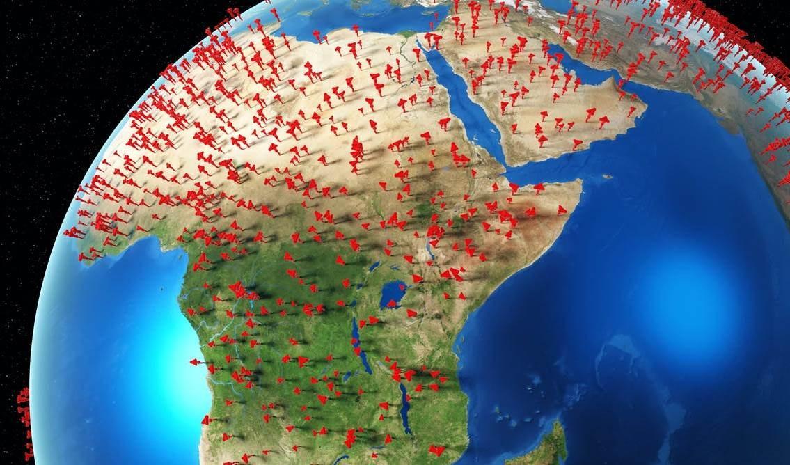 Reporta África más de siete mil contagios con la Covid-19.