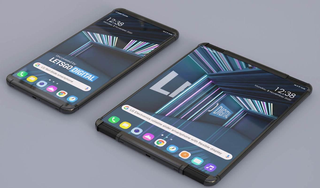 LG presenta móvil con pantalla enrollable y sorprende a los consumidores