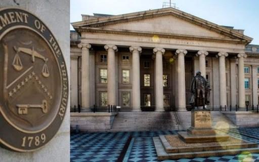 El Departamento del Tesoro de Estados Unidos.