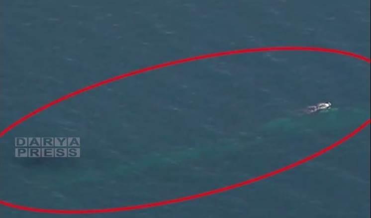 Ejército iraní detecta submarino desconocido y lo obliga a retirarse.