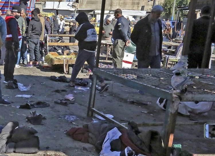 Daesh se atribuye autoría de doble atentado suicida en Bagdad