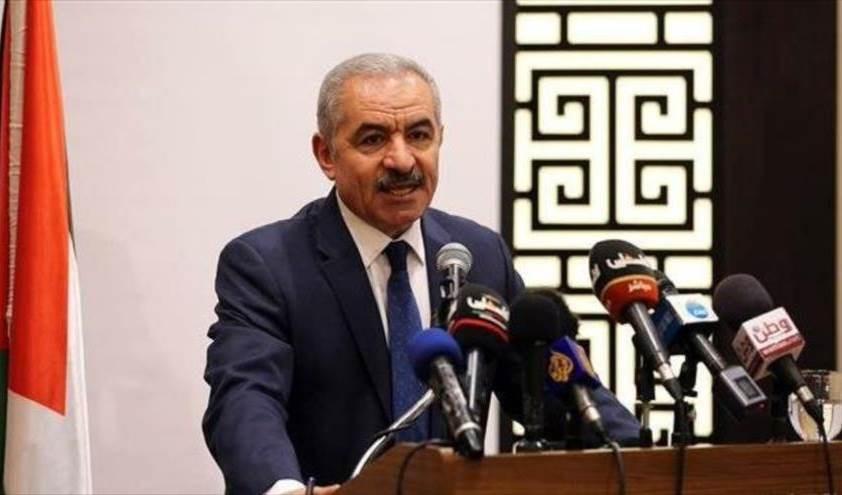 El primer ministro palestino, Mohammed Ishtayeh.