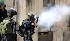Colonos atacan casas palestinas en Burin.