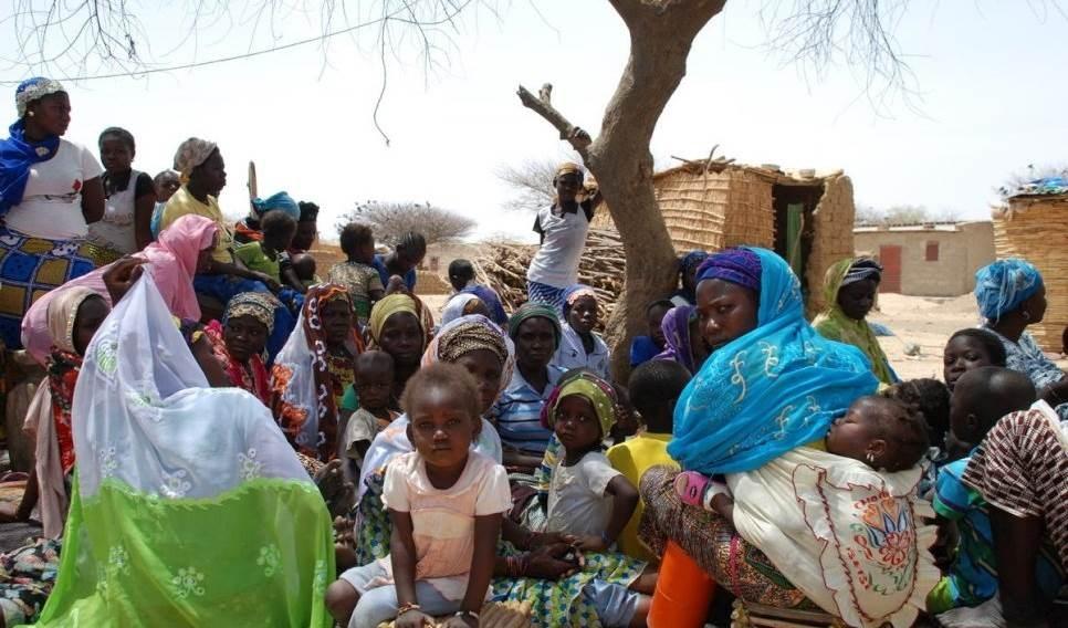 Dos millones de desplazados internos en la región africana del Sahel.