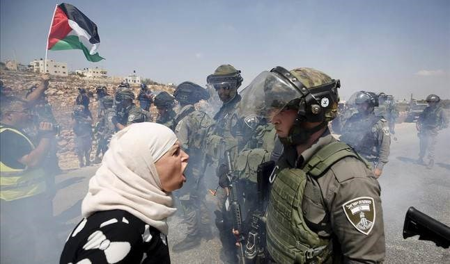 Palestina ocupada.