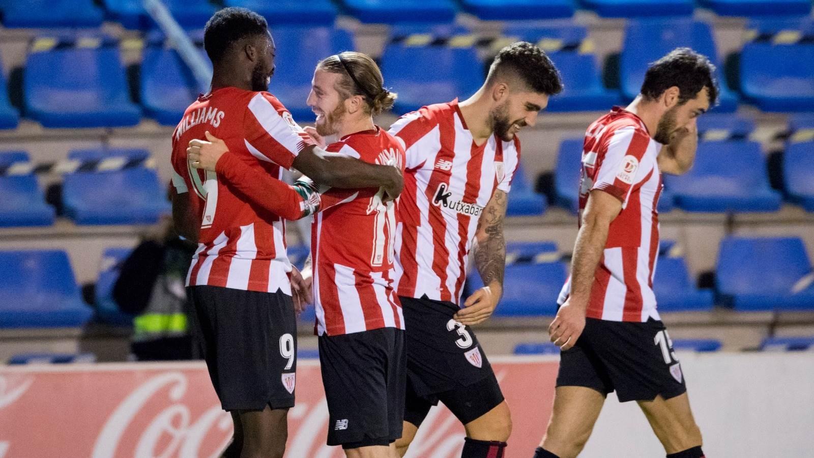 Athletic saca la casta en Copa del Rey