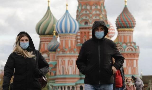 Rusia llega a 3,335 millones de casos de Covid-19.