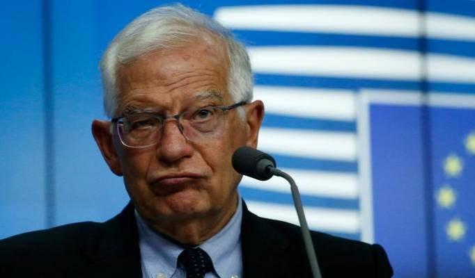 Joseph Borrell, jefe de la política exterior de la Unión Europea.