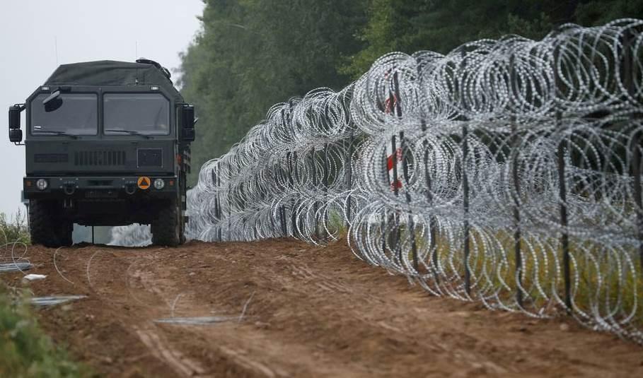Polonia planea gastar más de 400 millones de dólares en un muro en la frontera con Bielorrusia