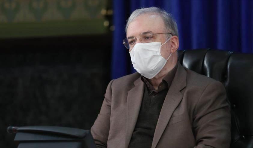 El ministro iraní de Salud, Said Namaki.