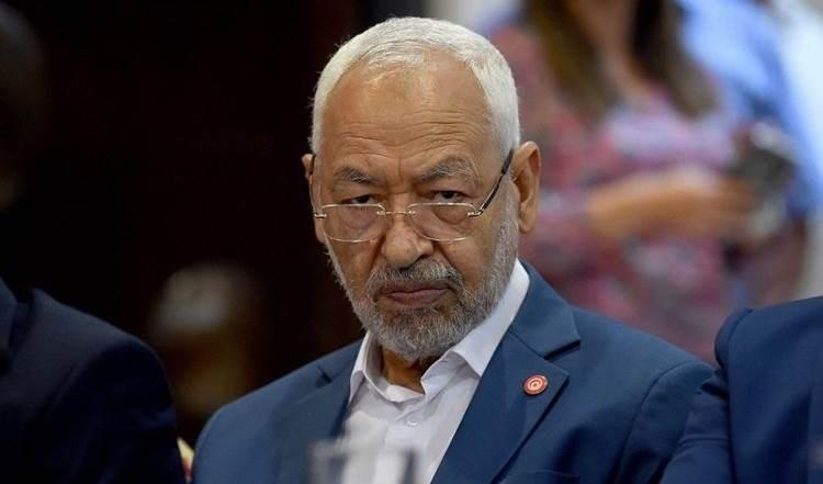El presidente del parlamento tunecino, Rached Ghannouchi.