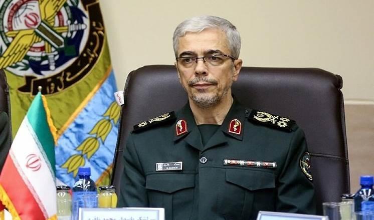 El jefe del Estado Mayor de las Fuerzas Armadas iraníes, el general de división Mohammad Bagheri.