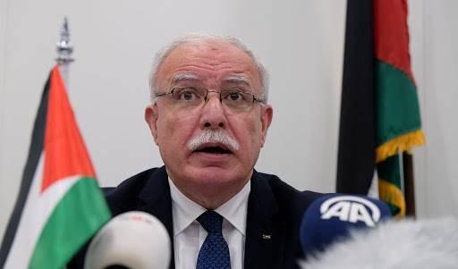 Riyad al-Malki reiteró la urgencia de que la comunidad internacional apoye el derecho palestino a la autodeterminación.