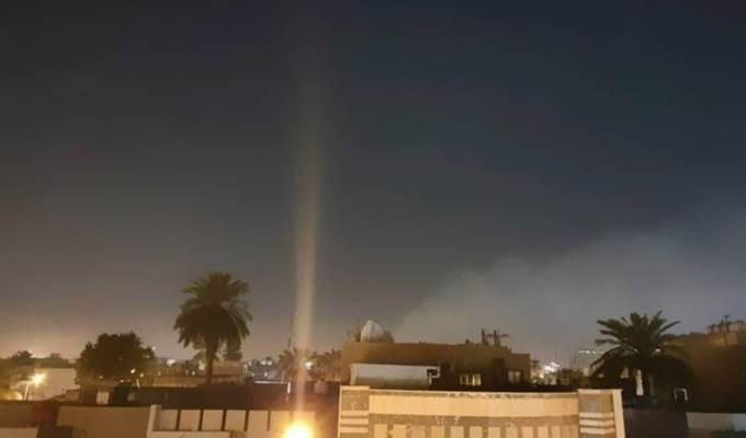Manos maliciosas están detrás del bombardeo de la Zona Verde en Iraq.