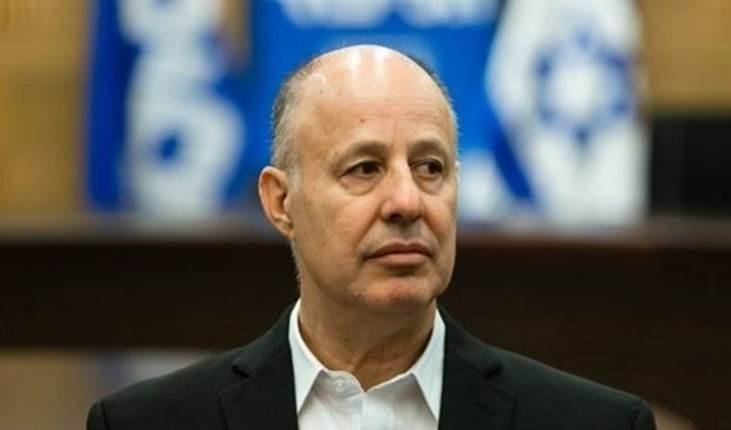 Tzachi Hanegbi, ministro israelí de Asuntos de Asentamientos.