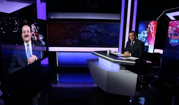 Hisham Sharaf Abdullah, canciller del Gobierno de Salvación de Yemen, ofrece entrevista a Al Mayadeen.