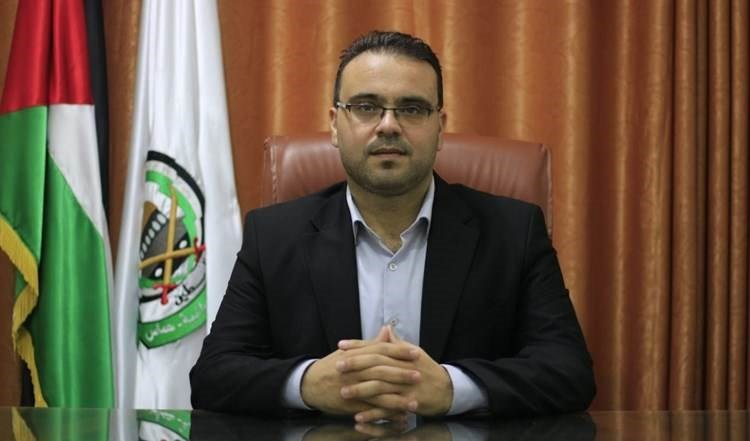 Hazem Qassem, vocero de Hamas.