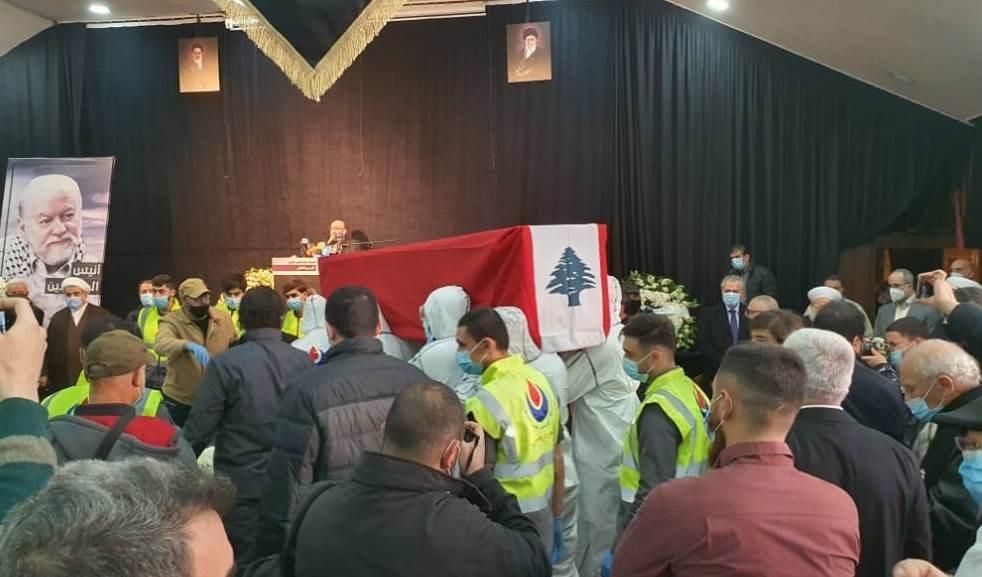Líbano despidió con honores al luchador Anis Al-Naqqash