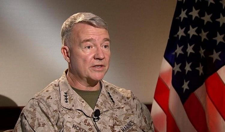 El Comandante del Comando Central de Estados Unidos, el general Kenneth Frank McKenzie.