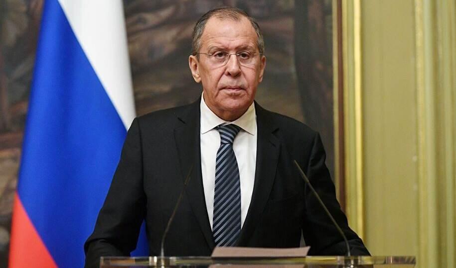 Serguei Lavrov, canciller ruso.