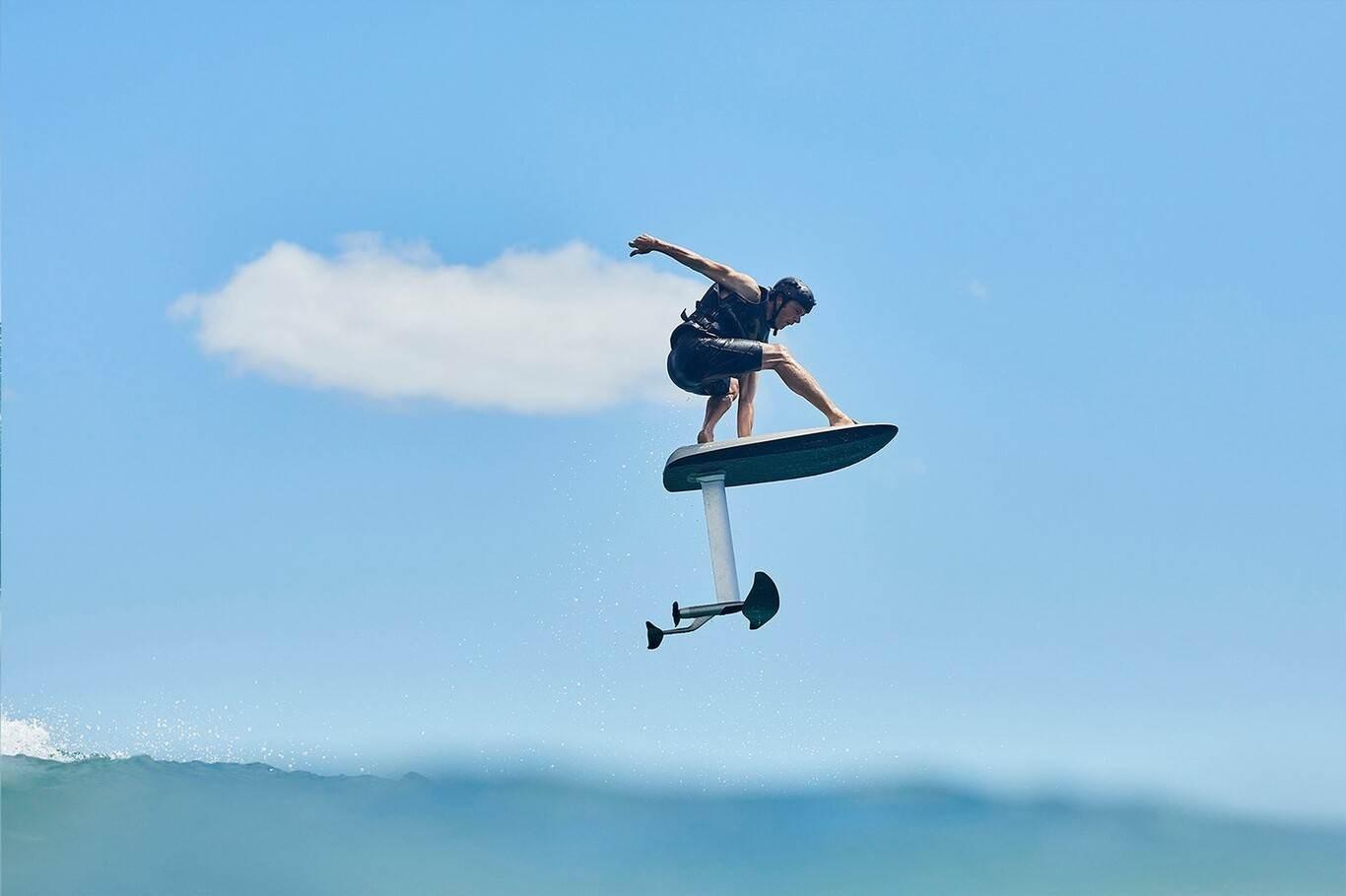 Fliteboard eléctrica: la tabla de surf con mando a distancia