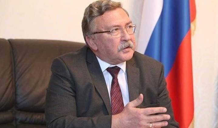 El representante permanente de Rusia ante las organizaciones internacionales radicadas en Viena (capital de Austria), Mijail Ulianov.