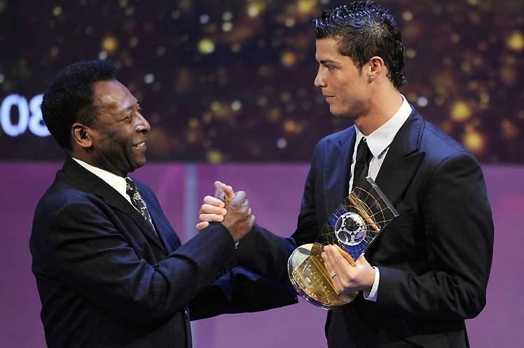 Pelé felicita a Cristiano Ronaldo por superar récord de goles