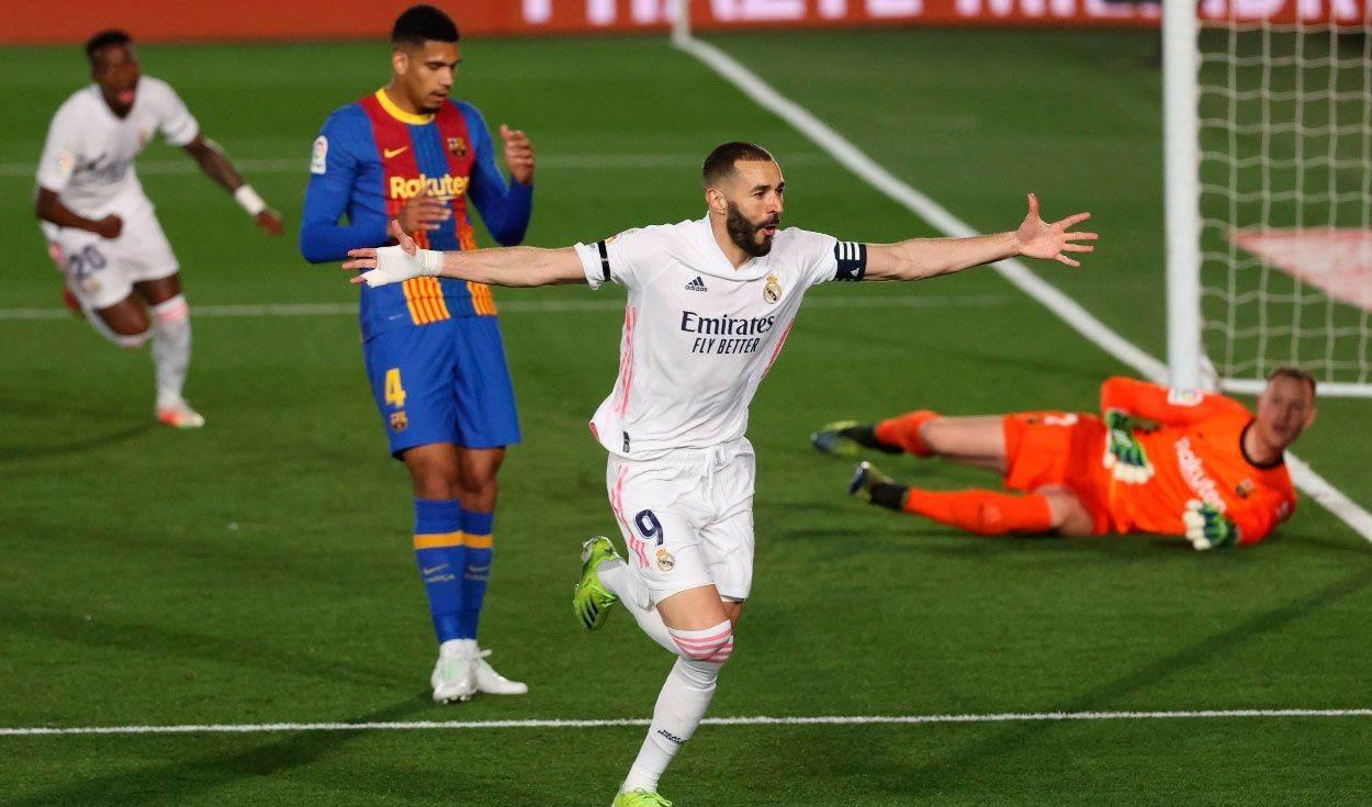 Real Madrid domina al Barça en clásico español de fútbol
