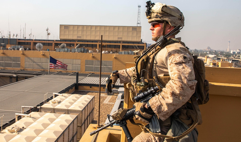 Comisión parlamentaria iraquí pide la evacuación de las tropas de combate de la embajada de Estados Unidos.