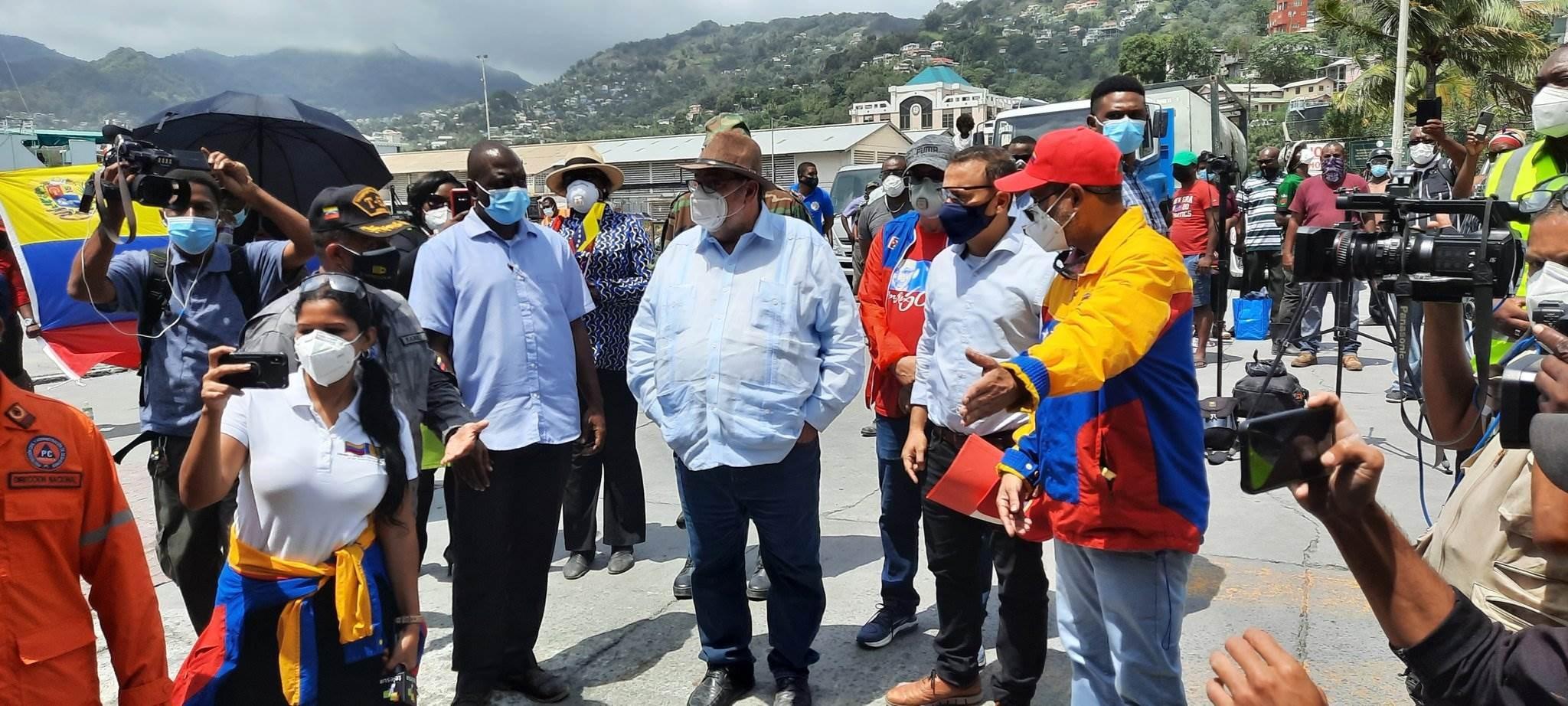 Ayuda para San Vicente y las Granadinas