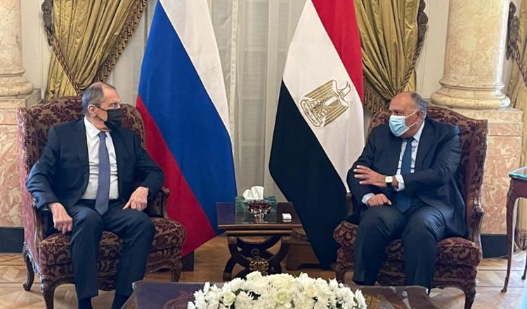 Rusia y Egipto destacan necesidad de que Siria regrese a la Liga Árabe.