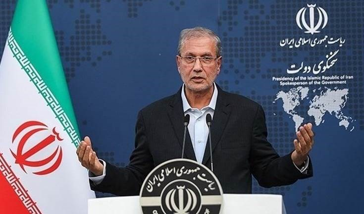 El portavoz del gobierno iraní, Ali Rabiei.