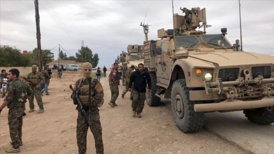 Atacan convoy de las fuerzas aliadas de EE.UU. en Siria.