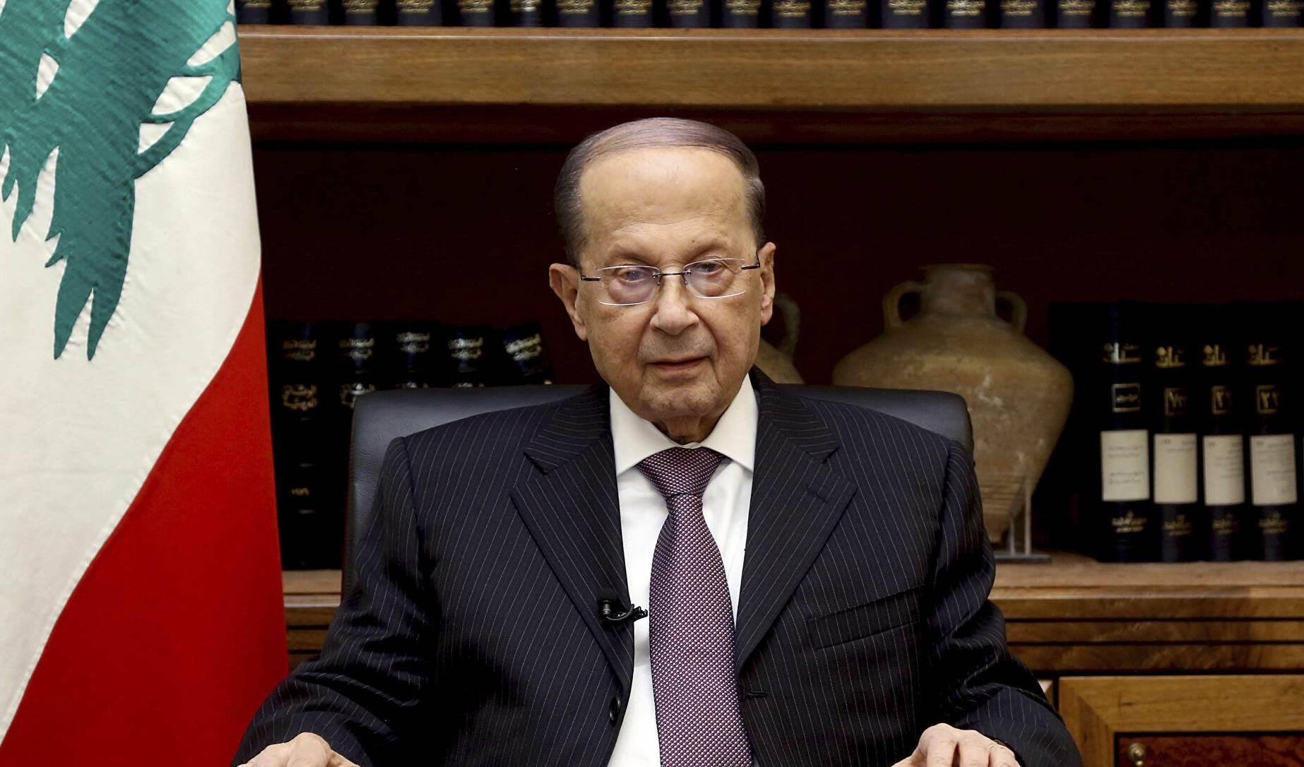 Michel Aoun, presidente de El Líbano.