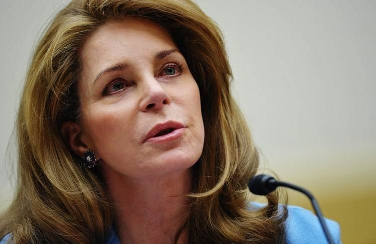 La viuda del difunto rey Hussein de Jordania, la reina Noor.