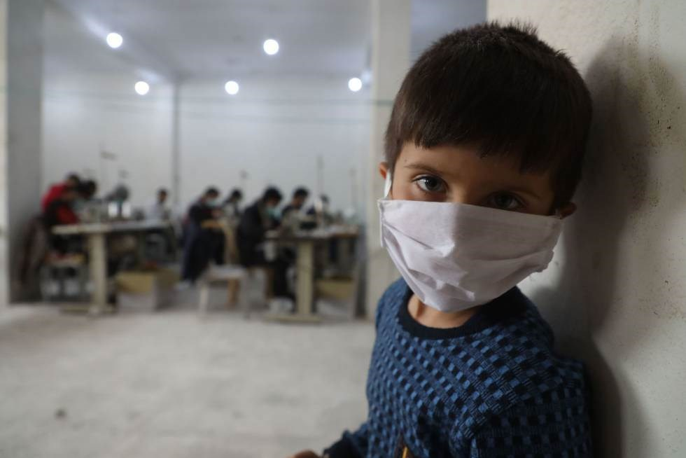 Suspenden ciclo escolar en Siria ante aumento de casos de COVID-19