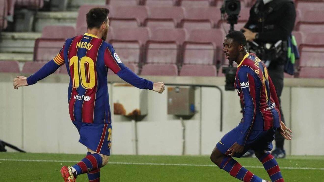 Barcelona consigue triunfo agónico sobre Valladolid