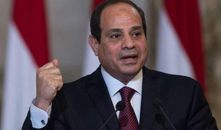 Abdel Fattah Al Sisi, presidente de Egipto.