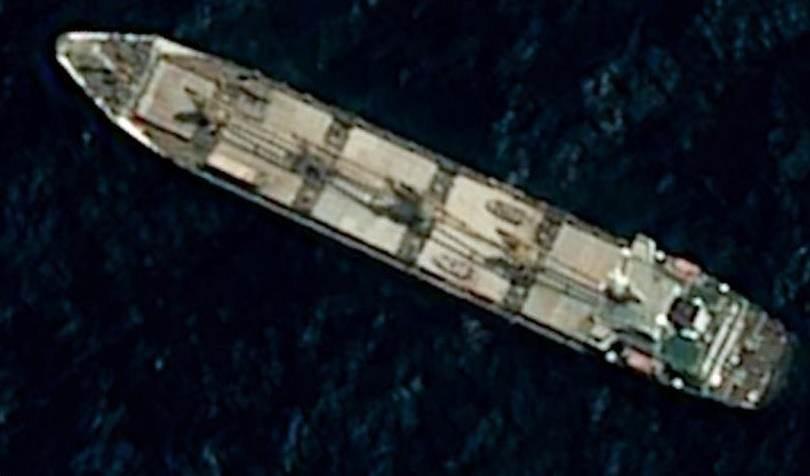 Informe: fuerza israelí ataca con minas navales barco iraní en el Mar Rojo.