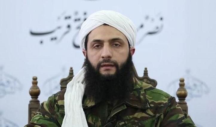 Abu Mohammad al-Golani, jefe del grupo terrorista Hay'at Tahrir al-Sham.