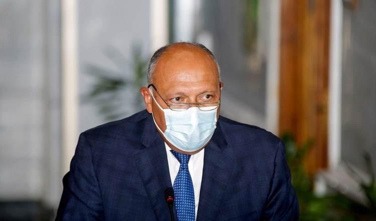 El ministro egipcio de Relaciones Exteriores, Sameh Shoukry.