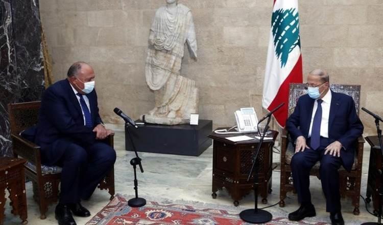 Shoukry: Haremos todo lo posible para comunicarnos con todas las partes libanesas.